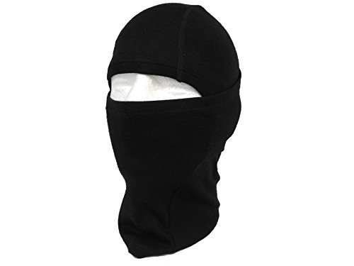 Merino Wool Thermal Balaclava gezichtsmasker - Merino & Polyester Mix met 300gsm Base Layer. Super zacht, comfortabel en stretchy. Hitte- en windbestendig. Ideaal in de winter en zomer voor alle buitenactiviteiten.