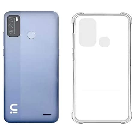 BuyFeb Silicone, Plastic Mobile Back Cover Case Compatible for Micromax in 1B- Transparent