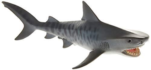 Schleich- Figura Tiburón Tigre, 5,4 cm.