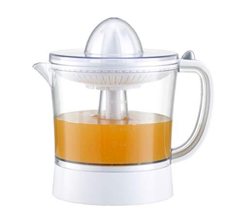 Exprimidor eléctrico de naranjas para zumo Family Care, jarra libre de BPA con 1000ml, filtro de pulpa ajustable, boquilla antigoteo, accesorios desmontables apto para lavavajillas, potencia 40W
