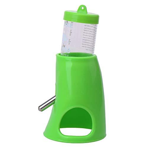 Hypeety Botella de agua para bebida Hamster Cage Parrot para ratas y ratas, cuenco para alimentador de agua de 125 ml, 1 unidad de color al azar