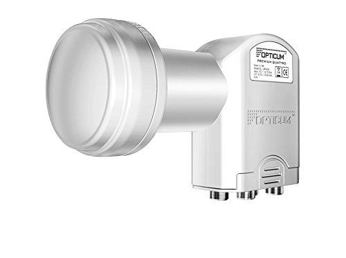 Opticum LRP-04H Quattro LNB (0,1dB, geeignet für Full HD und 3D Empfang)