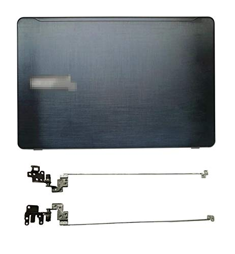 Replacement for Acer aspire F5-573 F5-573G Series 15.6' LCD Back Cover Top Case & Hinges Sets (Black)