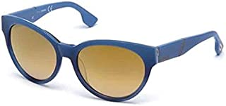 Diesel Women's DL0124 Sunglasses Blue