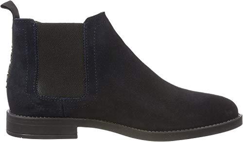 Hilfiger Denim Damen Essential Chelsea Boots, Blau (Midnight 403), 40 EU