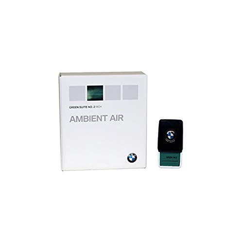 Original BMW Ambient Air, Green Suite No. 2, aromática, aroma Conector, olor BMW 5 G3 X/7 G1 X