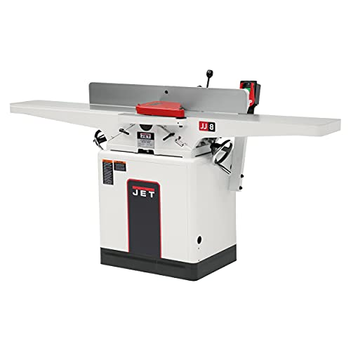 JET JWJ-8HH 8' Helical-Head Jointer, 2 HP, 1PH 230V...