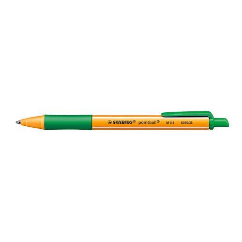 Stabilo Kugelschreiber Pointball grün 6030/36 0,5mm
