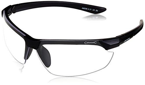 ALPINA Sonnenbrille Amition DRAFF Outdoorsport-brille, Black Matt, One Size