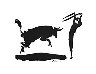 Pablo Picasso - Bullfight III - Picador 14 x 11