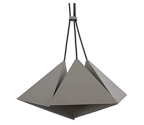 Set grigio 3 Lampada a sospensione Luci di soffitto Lampadario da soffitto