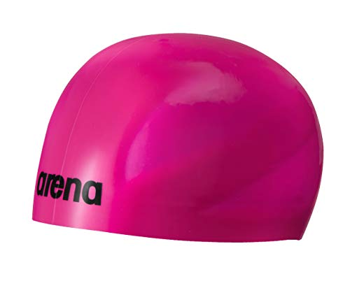 Arena Unisex's 3D Ultra Swim Cap, Fuchsia/Black, Medium