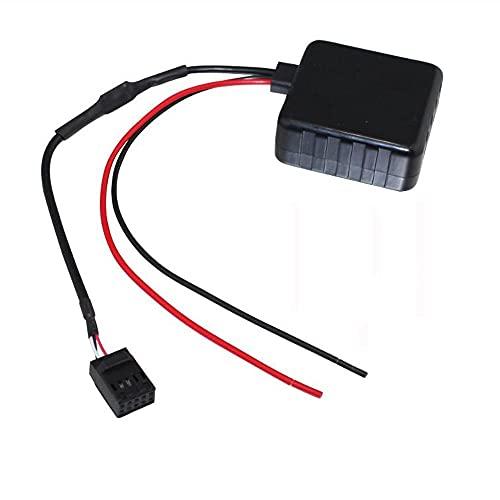 PINGYAYANG Módulo Bluetooth del Coche Auxiliar Ajuste de Audio para Peugeot 307 407 RD4 Apto para Citroen C2 C3 Adaptador de Cable Auxiliar de Radio estéreo