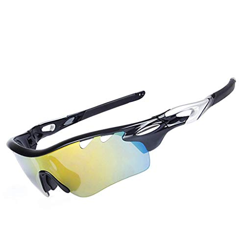 XBSXP Gafas de Ciclismo Gafas de Sol polarizadas Gafas Deportivas de Ciclismo Gafas de Sol Deportivas al Aire Libre