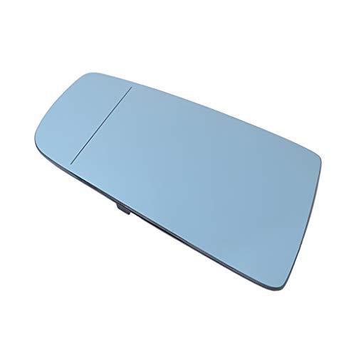 B Blesiya Espejo Retrovisor de Puerta de Ala con Calefacción a La Derecha (vidrio Azul)