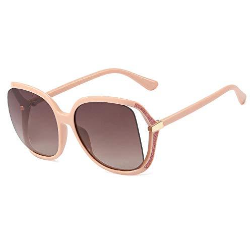 U/N Square Big Frame Gradient Sunglasses Men Women Fashion Shades Vintage Glasses-2