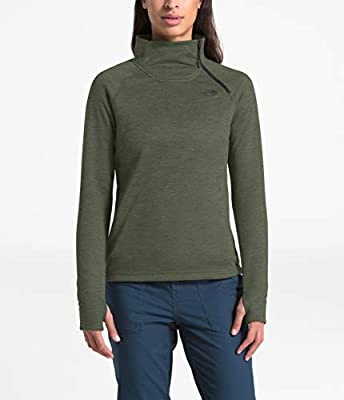 The North Face Women's Canyonlands 1/4 Zip, New Taupe Green Heather, S