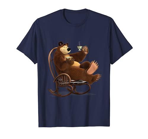 Mascha und der Bär Tee-Fan-Club T-shirt