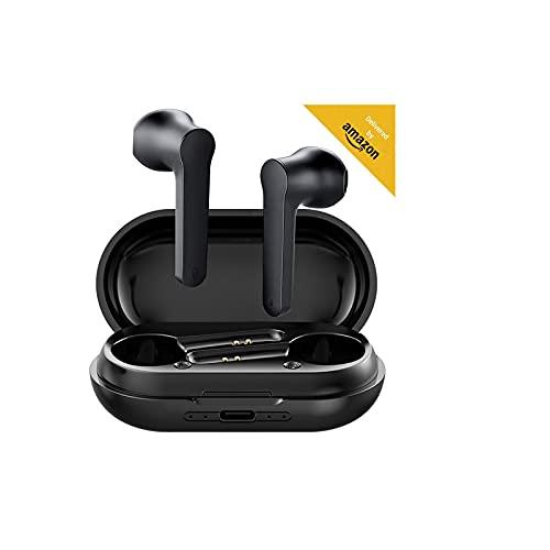 Écouteurs sans Fil Bluetooth 5.0 avec réduction de Bruit, Écouteurs Sportifs avec IPX7 Écouteurs stéréo étanches dans l'oreille Intégré HD Mic Casques Compatible avec iPhone Android/Airpods/Samsung