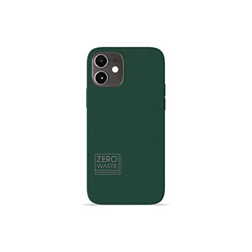 Wilma Biodegradable Compatible con iPhone 12, iPhone 12 Pro Funda, 6.1 Inches, Cero Desperdicio, Funda Protectora para Teléfono, Ecológico, Detener la Contaminación de Plásticos, Sin Plástico, Verde