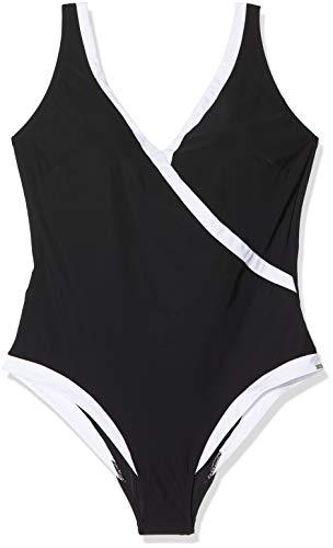 Triumph Damen Charm Elegance OP 04 Badeanzug, Schwarz (Black 0004), Keine Angabe (Herstellergröße: 44E)