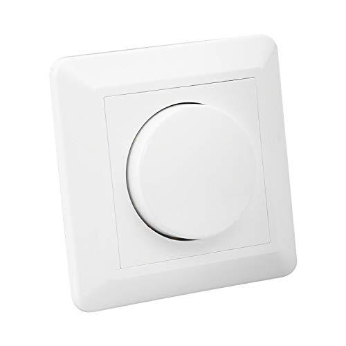 LEDKIA LIGHTING Regulador Interruptor Conmutado Universal LED Triac Blanco