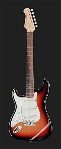 Kit Guitarra Eléctrica completo. Para Zurdos st-20lh SB Bundle ...