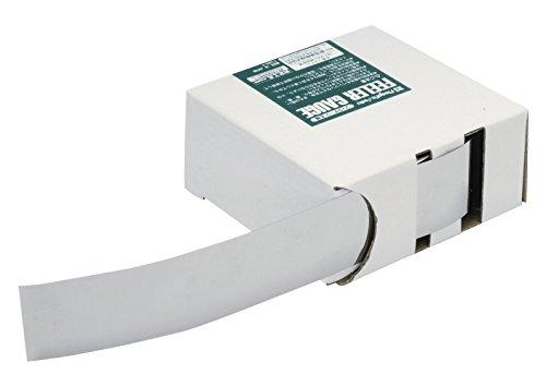 新潟精機 SK フィラーゲージ(すきまゲージ) ステンレス製 広幅 30mm幅×1m 0.01mm SFG30-01-1