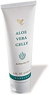 Aloe Vera Gelly 4 fl. oz. 100% stabilized aloe vera gel (6 Pack)