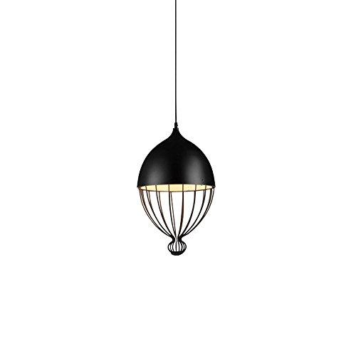 Pointhx Elegantes schwarzes Metall verstellbare hängen Lampe kreative hohlen Eisen Pendelleuchte Restaurant Esszimmer Kaffee Wohnzimmer Hirse Typ Kronleuchter Droplight