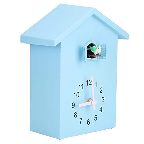 Cyrank Relojes de Pared de Cuco con Pilas, Reloj de Cocina, Reloj de baño para decoración de Pared de Oficina, Sala de Estar y hogar Moderno