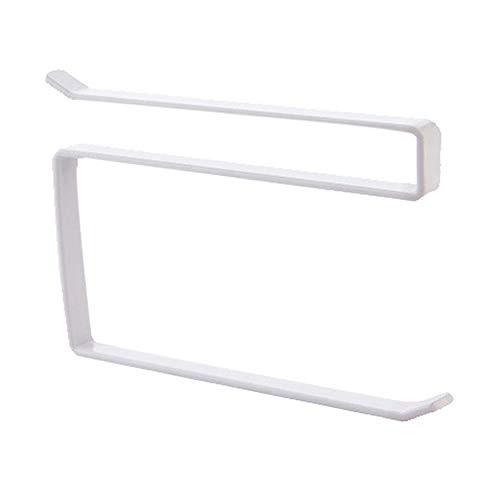 N / E Casa Simple Gabinete de la puerta colgante de papel toallero libre perforación HS hierro forjado gabinete de almacenamiento rack de rollo titular