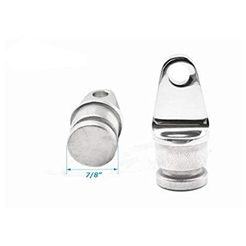 "Why Should You Buy Demand-316 Stainless-Steel 7/8"" Round Inside Eye End for Bimini Top (1pcs) Dura..."
