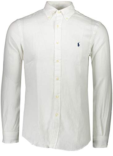 Polo Ralph Lauren Hemd Weiß - Slim Fit - 710-794142 (L)