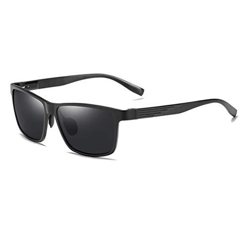 VBNM gepolariseerde zonnebril voor heren, magnesium aluminium frame, retro zonnebril, outdoor driving bril, UV400 anti-uv, anti-glare, TAC gepolariseerd, HD lenzen