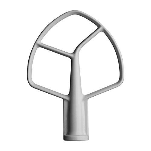 Beschichteter flacher Schlägel für KitchenAid Mixer K5AB K5SS Schüssel Lift Stand Mixer Coated Beater Paddel 5qt (KPM5, K5, K50)