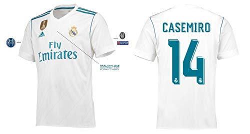 Real Madrid Trikot Herren Home UCL Final Kyiv 2018 - Casemiro 14 (XXXL)