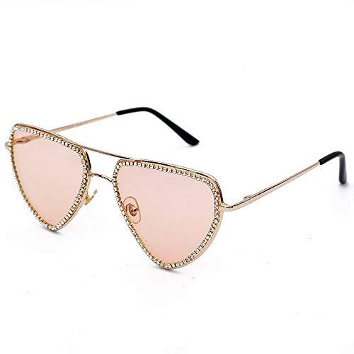 Gafas de sol con forma de corazón de diamante para mujer Gafas de sol triangulares pequeñas vintage Gafas de sol de lujo retro para hombre Gafas de marca de diseñador, para conducir Beach Travel-3