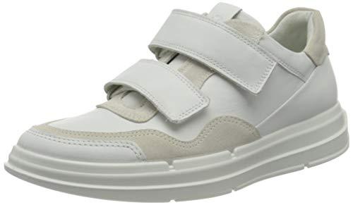 ECCO Damen Soft X Sneaker niedrige Turnschuhe, Shadow White, 39 EU