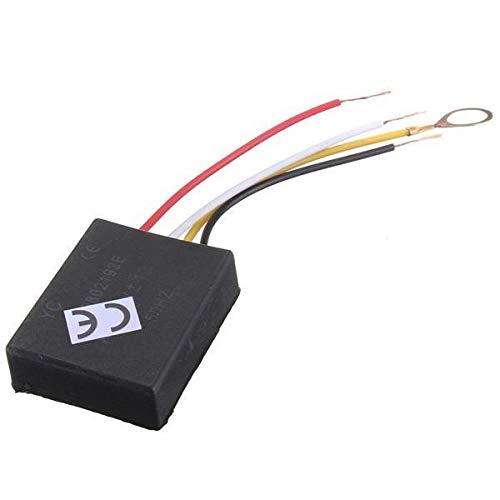Módulo electrónico El interruptor del sensor de control táctil Camino CA 220V 3 Regulador de la lámpara de escritorio 3pcs Piezas Luz Equipo electrónico de alta precisión