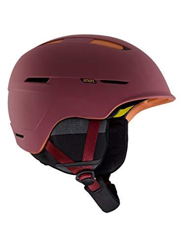 Anon Herren Invert Snowboard Helm, Maroon, XL