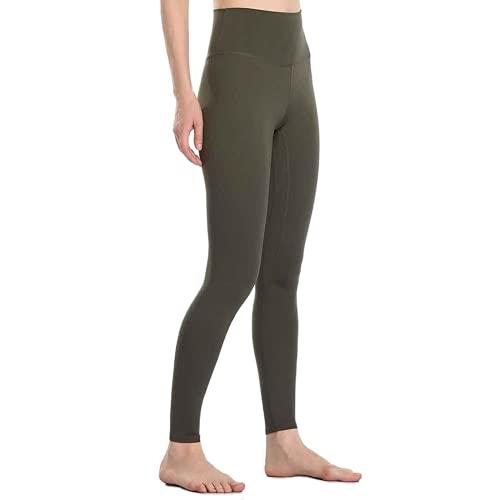 QTJY Leggings Deportivos de Color para Mujer, Pantalones de Yoga elásticos de Cintura Alta para Mujer, para Correr de Secado rápido, G XL