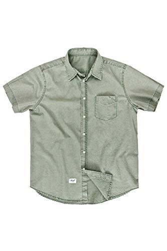 Reell Short SL Shirt Solid, Green M Artikel-Nr.1304-1026