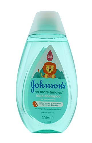 JOHNSON'S Baby Kids No More Tangles Shampoo, 300 ml JJBST300