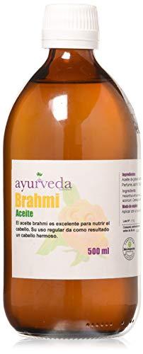 Ayurveda Autentico Aceite De Brahmi Para El Cabello 500 ml