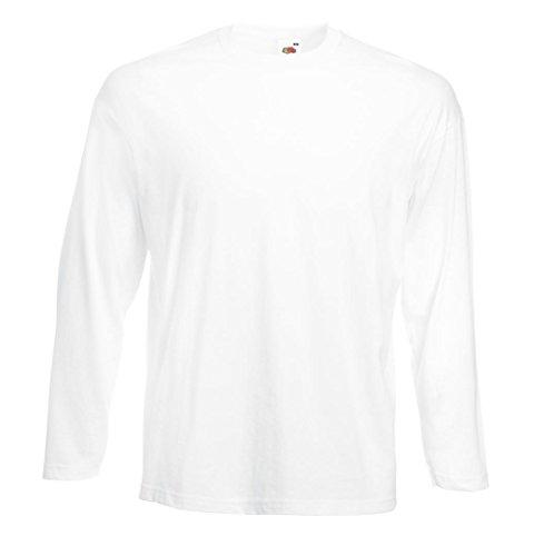 Fruit Of The Loom T-shirt z długim rękawem w rozmiarach i