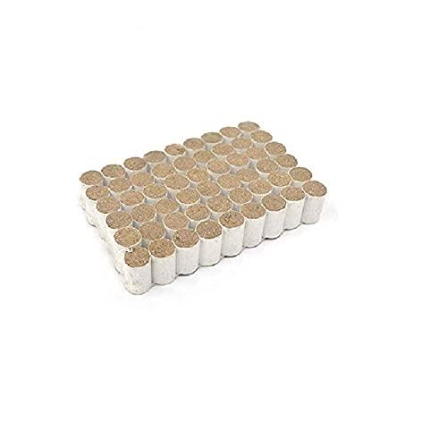 Combustible Ahumador. 54 piezas de herramienta de apicultura bomba de humo de abeja. Fumador de combustible sólido. Fumigación Hierba medicinal Humo Colmena Esterilizar herramienta