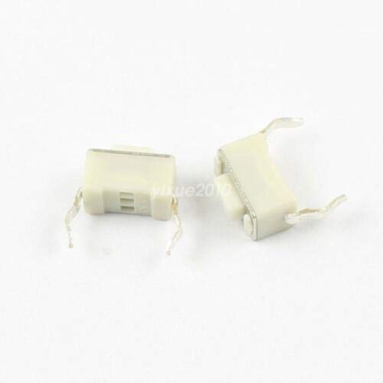 ハンディキャップかわいらしいコミュニケーションFidgetGear 50Pcs瞬間触覚タクトプッシュボタンスイッチ2ピンDIP 3x6x4.3mm