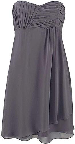 Laura Scott Kleid Abendkleid Grau Gr. 44