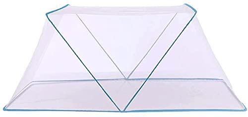 SDKFJ Tela mosquitera Mosquitera Plegable Individual Mosquitera portátil Mosquitera para Estudiantes Mosquitera para Dormitorio de Estudiantes Mosquito Net (Size:S)